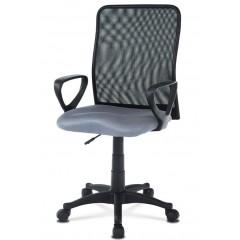 Kancelářská židle KAB047 šedá