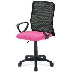 Kancelářská židle KAB047 růžová