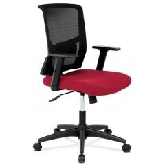 Kancelářská židle KAB1012 - červená