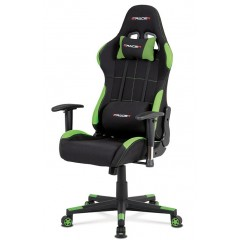 Kancelářské a herní křeslo  KAF02 - zelená/černá