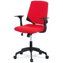 Kancelářská židle KAR204 - červená