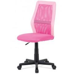 Dětská kancelářská židle KAV101 růžová