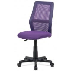 Dětská kancelářská židle KAV101 fialová