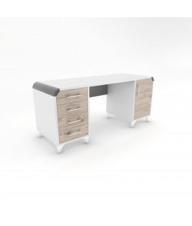 Psací stůl CARLOS - RETRO 170X60 RB3/levá