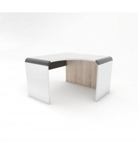 Rohový psací stůl GUIDO 120x120  - RETRO RBN4/pravá