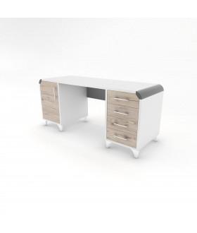 Psací stůl CARLOS - RETRO 170X60 RB3/pravá
