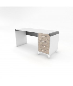 Psací stůl DIEGO - RETRO 160X60 RB2/pravá
