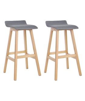 Barová židle LJB21GY - 2 ks