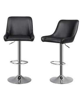 Barová židle LJB60B - 2 ks