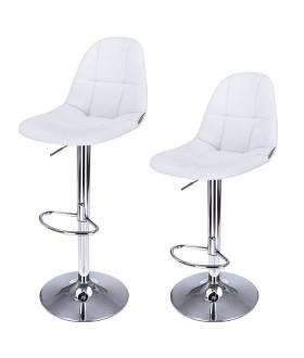 Barová židle LJB68W -  2 ks