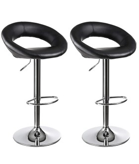 Barová židle LJB77B - 2 ks