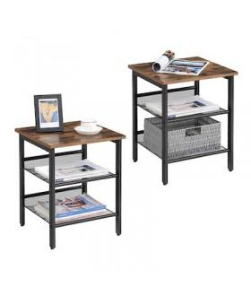 Multifunkční noční stolek LET24X - 2ks