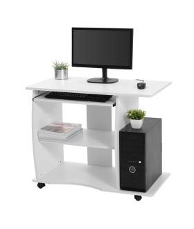 Mobilní počítačový stůl SON - S-751W