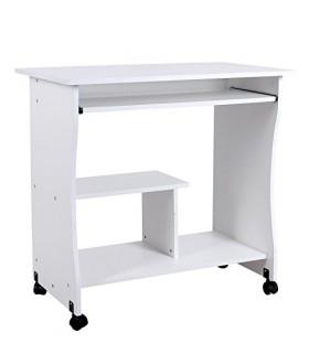 Mobilní počítačový stůl SON - S-858W