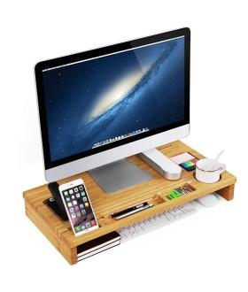 Bambusový stolní organizér na notebook MASTER 201