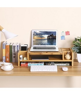 Bambusový stolní organizér  S-213