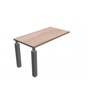 Přístavný stůl k rovným stolům SQUARE 130x65 cm