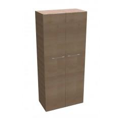 Kancelářská skříň SQUARE policová 2-dveřová vysoká 189 cm - MS5108