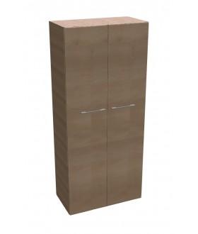 Kancelářská skříň SQUARE policová 2-dveřová vysoká 189 cm