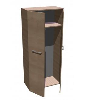 Kancelářská skříň SQUARE šatní vysoká 189 cm