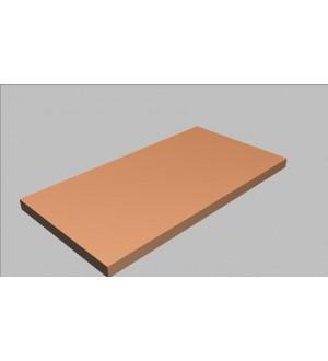 Krycí deska rovná Square 80 cm