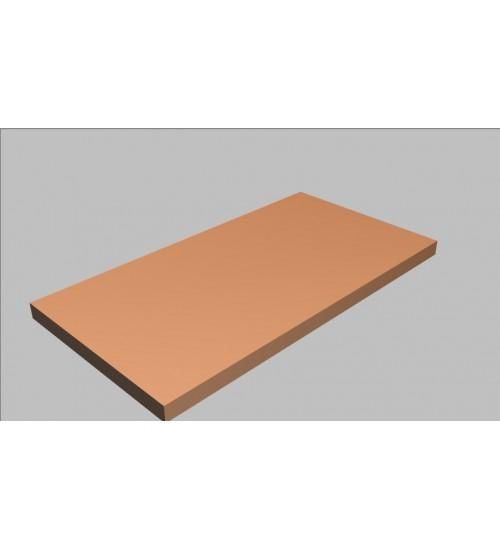 Krycí deska rovná Square 80 cm - MS0080
