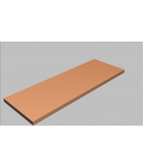 Krycí deska rovná Square 120 cm