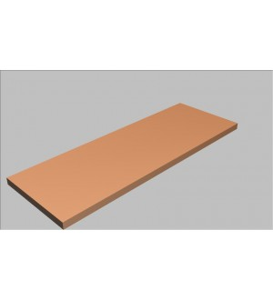 Krycí deska rovná Square 120 cm - MS0120