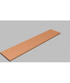 Krycí deska rovná Square 200 cm