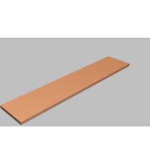 Krycí deska rovná Square 200 cm - MS0200
