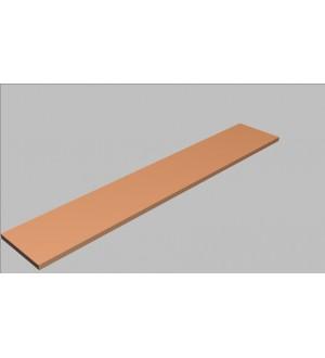 Krycí deska rovná Square 240 cm