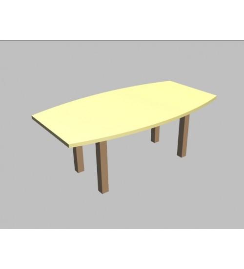 Jednací stůl Square sud - 200x110/80 cm