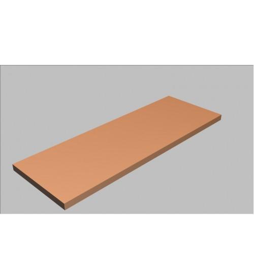 Krycí deska rovná Square 160 cm - MS0160
