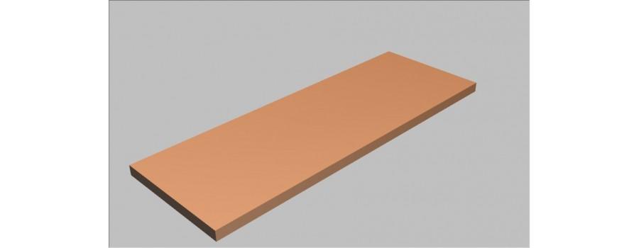 Krycí desky na skříně Square