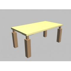 Konferenční stolek Square - 110x60 cm - MS2011