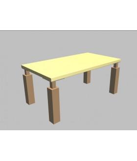 Konferenční stolek Square - 110x60 cm