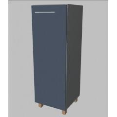 Kancelářská skříň Square  úzka střední 117 cm - pravá - MS3104R