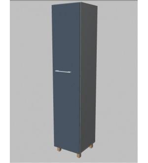 Kancelářská skříň Square  úzká vysoká 189 cm - pravá