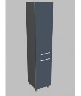 Kancelářská skříň  Square úzká dvodveřová vysoká 189 cm - levá - MS5404L