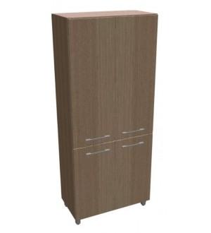 Kancelářská skříň Square 4-dveřová vysoká 189 cm - MS5408