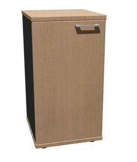 Skříň policová Standard s dveřmi - výška 75 cm - levá