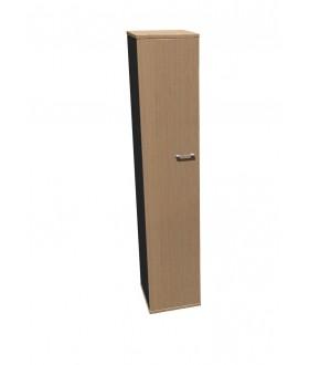 Skříň policová Standard s dveřmi - výška 202 cm levá