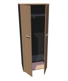 Skříň šatní  Standard - výška 202 cm - SK6508
