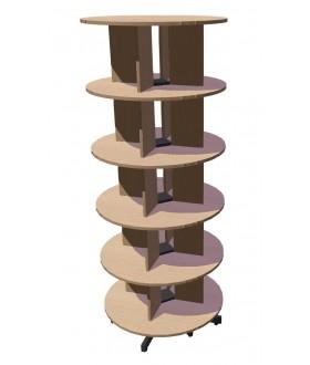 Otočná skříň Standard pětipatrová