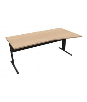 Kancelářský stůl Ergo Economy s ABS hranou - 180 cm pravý