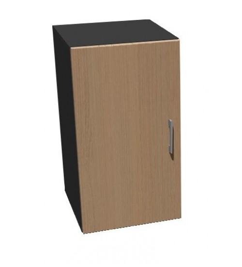 Kancelářská skříň Standard s dveřma - výška 75 cm levá