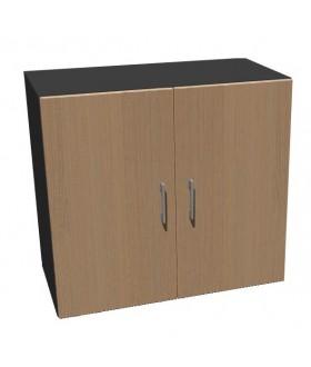 Kancelářská skříň Standard II s dveřmi - výška 75 cm - SK0218