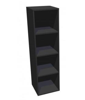 Kancelářská skříň Standard policová - výška 144 cm
