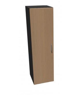 Kancelářská skříň Standard s dveřmi - výška 144 cm levá