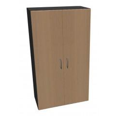 Kancelářská skříň Standard dvoudveřová - výška 144 cm - SK0418